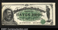 Obsoletes By State:Minnesota, Austin, MN- Hayes Bros. Jewelers 1887 Ad NoteAn exception...