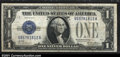 Error Notes:Inverted Reverses, Fr. 1601 $1 1928A Silver Certificate. CGA Fine 15. An early...