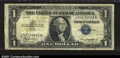 Error Notes:Inverted Reverses, Fr. 1607 $1 1935 Silver Certificate. CGA Fine 15. An invert...
