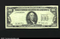 Error Notes:Missing Third Printing, Fr. 2168-? $100 1977 Federal Reserve Note. Very Fine-Extremel...