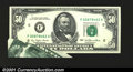 Error Notes:Foldovers, Fr. 2119-F $50 1977 Federal Reserve Note. Gem Crisp Uncircula...