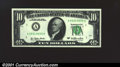 Error Notes:Major Errors, Fr. 2024-A $10 1977 Federal Reserve Note. Gem Crisp Uncircula...