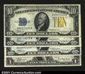 Small Size:World War II Emergency Notes, Fr. 2306 $1 1935A North Africa Silver Certificate. AU.Fr. 2...