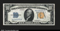 Small Size:World War II Emergency Notes, Fr. 2308 $10 1934 North Africa Silver Certificate. Superb Gem...