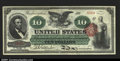Large Size:Legal Tender Notes, Fr. 95B $10 Legal Tender Note Gem New. An absolutely gorgeo...
