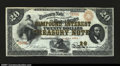 Large Size:Compound Interest Treasury Notes, Fr. 191a $20 1864 Compound Interest Treasury Note Very Fine-E...