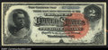Large Size:Silver Certificates, Fr. 242 $2 1886 Silver Certificate CGA Gem Uncirculated 65....