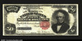 Large Size:Silver Certificates, Fr. 332 $50 1891 Silver Certificate Fine. The surfaces are ...
