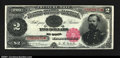 Large Size:Treasury Notes, Fr. 355 $2 1890 Treasury Note About New. A wonderfully good...