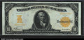 Large Size:Gold Certificates, Fr. 1168 $10 1907 Gold Certificate CGA Gem Uncirculated 65....