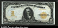 Large Size:Gold Certificates, Fr. 1172 $10 1907 Gold Certificate Choice Extremely Fine. T...