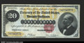 Large Size:Gold Certificates, Fr. 1178 $20 1882 Gold Certificate Extremely Fine. A beauti...