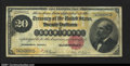 Large Size:Gold Certificates, Fr. 1178 $20 1882 Gold Certificate Fine. Appears to be Very...