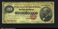 Large Size:Gold Certificates, Fr. 1178 $20 1882 Gold Certificate Very Good. Solid for the...