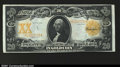 Large Size:Gold Certificates, Fr. 1186 $20 1906 Gold Certificate About New. The paper is ...