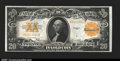 Large Size:Gold Certificates, Fr. 1187 $20 1922 Gold Certificate Very Choice New. Slightl...