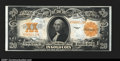 Large Size:Gold Certificates, Fr. 1187 $20 1922 Gold Certificate Very Choice New. Bright,...
