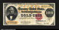 Large Size:Gold Certificates, Fr. 1215 $100 1922 Gold Certificate Fine-Very Fine. A nice ...