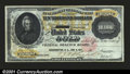 Large Size:Gold Certificates, Fr. 1225 $10,000 1900 Gold Certificate About New. Punch can...