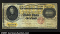 Large Size:Gold Certificates, Fr. 1225 $10,000 1900 Gold Certificate Fine. This example h...