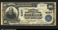 Tucson, AZ $10 1902 Plain Back Fr. 628 The Consolidated NB Ch. # 4287 Notes from this state, which were never plentiful...