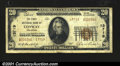 National Bank Notes:Arkansas, Conway, AR- $20 1929 Ty. 2 The First NB Ch. # 13719A ...
