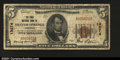 National Bank Notes:Arkansas, Siloam Springs, AR- $5 1929 Ty. 1 The First NB Ch. # 13...