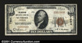 National Bank Notes:Colorado, Alamosa, CO- $10 1929 Ty. 1 The American NB Ch. # 7904...