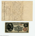 National Bank Notes:Colorado, Del Norte, CO- $5 1882 Brown Back Fr. 471 The First NB ...