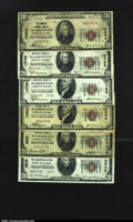 A Mixed Group of Better Washington, DC Small Notes Washington, DC- $20 1929 Ty. 1, $20 1929 Ty. 1 The Columbia NB C