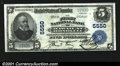 National Bank Notes:Hawaii, Honolulu, Hawaii Territory- $5 1902 Plain Back Fr. 607 Th...