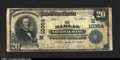 National Bank Notes:Iowa, Harlan, IA- $20 1902 Plain Back Fr. 655 The Harlan NB C...