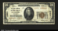 National Bank Notes:Kentucky, Glasgow, KY- $20 1929 Ty. 2 The New Farmers NB Ch. # 13...