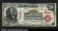 National Bank Notes:Kentucky, Hodgenville, KY- $20 1902 Red Seal Fr. 639 The Farmers NB...