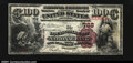 National Bank Notes:Kentucky, Louisville, KY - $100 Brown Back Fr. 520 Louisville City ...