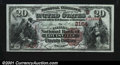 National Bank Notes:Kentucky, Louisville, KY- $20 1882 Brown Back Fr. 501 The Citizens ...