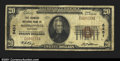 National Bank Notes:Kentucky, Madisonville, KY - $20 1929 Ty. 1 The Farmers NB Ch. # ...
