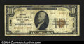 National Bank Notes:Maine, Houlton, ME- $10 1929 Ty. 1 The First NB Ch. # 2749Ev...