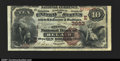 National Bank Notes:Maryland, Bel Air, MD- $10 1882 Brown Back Fr. 483 The Second NB Ch...