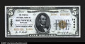 National Bank Notes:Maryland, Brunswick, MD- $5 1929 Ty. 2 The Peoples NB Ch. # 14044...