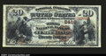 National Bank Notes:Maryland, Cumberland, MD- $20 1882 Brown Back Fr. 504 The Third NB...