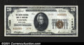 National Bank Notes:Maryland, Easton, MD- $20 1929 Ty. 2 The Easton NB Ch. # 1434A ...