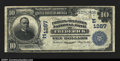 National Bank Notes:Maryland, Fr. 616 Frederick- $10 1902 Date Back The Farmers &Mechanics...