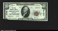 National Bank Notes:Maryland, Fr. 1801-2 Friendsville-$10 Ty. 2 The First NB Ch. 6196 A v...