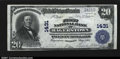 National Bank Notes:Maryland, Hagerstown, MD- $20 1902 Plain Back Fr. 650 The First NB...