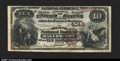 National Bank Notes:Maryland, Hagerstown, MD- $10 1882 Brown Back Fr. 484 The Second NB...
