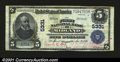 National Bank Notes:Maryland, Midland, MD- $5 1902 Plain Back Fr. 607 The First NB Ch...