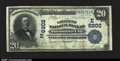 National Bank Notes:Maryland, Pocomoke City, MD- $20 1902 Date Back Fr. 642 The Citizen...