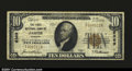 National Bank Notes:Missouri, Jasper, MO- $10 1929 Ty. 1 The First NB Ch. # 6369A v...