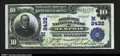 National Bank Notes:Missouri, Memphis, MO- $10 1902 Plain Back Fr. 632 The Scotland Cou...